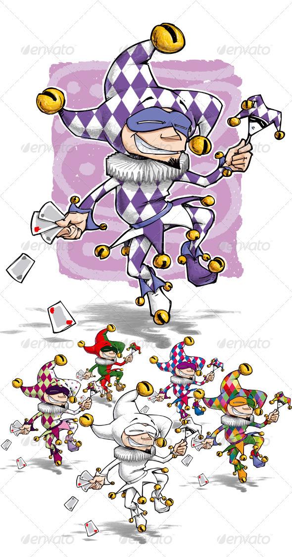 GraphicRiver Happy Jester 1588249