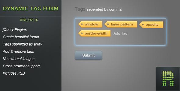 CodeCanyon Dynamic Tag Form 482498