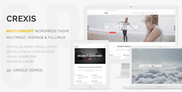 24 - Crexis - Responsive Multi-Purpose WordPress Theme
