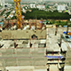 Aerial View of Building Construction 01
