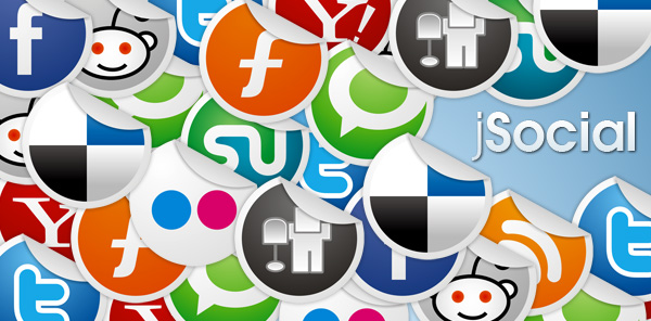 jSocial - Add social share buttons to your pages.