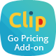Clip - Add-on for Go Pricing
