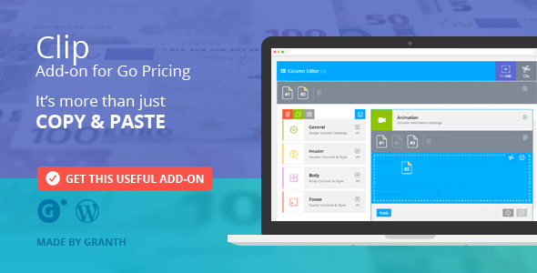 Clip - Add-on for Go Pricing - CodeCanyon Item for Sale