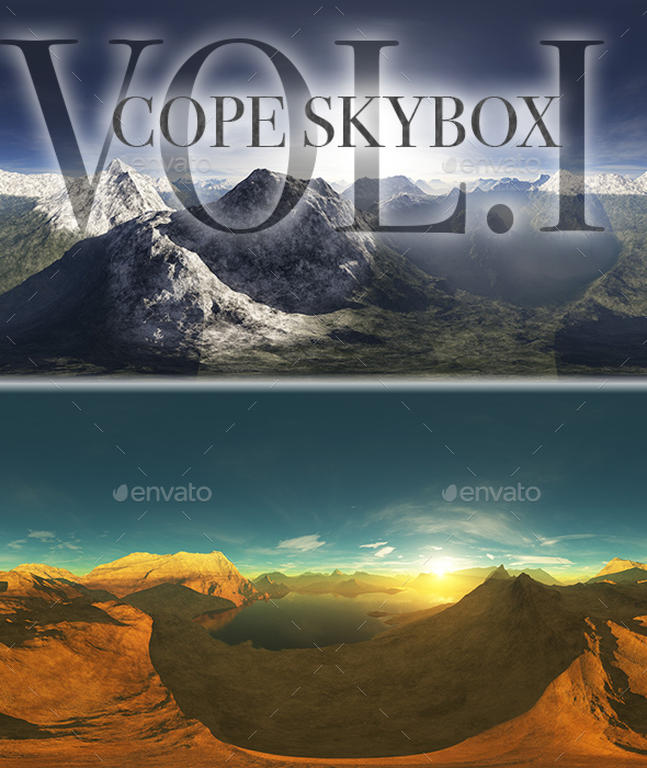 Cope Skybox Pack Vol.I - 3DOcean Item for Sale