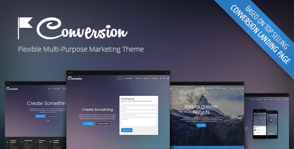 Conversion - Multi-Purpose Marketing Theme