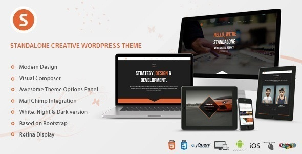 Download Standalone - Creative Portfolio WordPress Theme nulled download