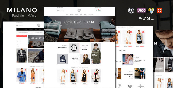 9 - Milano - Fashion Responsive WooCommerce Theme