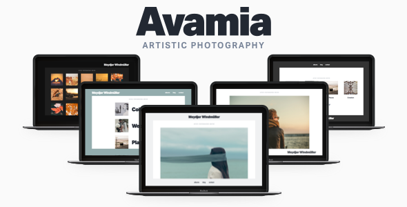 5 - Avamia — Artistic Photography Theme
