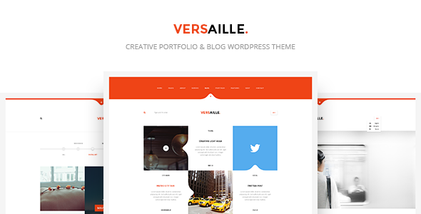 Versaille - Personal Blog WordPress Theme