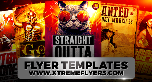 Premium Flyer Templates PSD