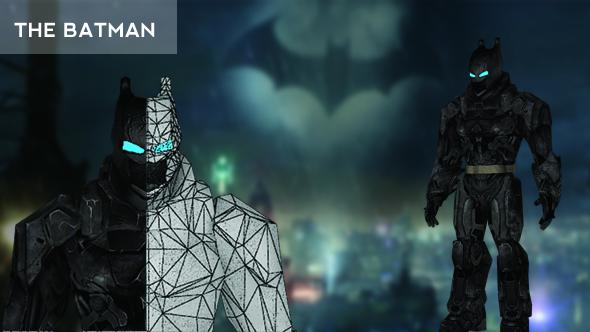Batman Suite - 3DOcean Item for Sale
