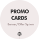 Promo Cards - Banner/Offer System WordPress Plugin