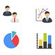 Management Flat Color Icons