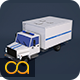 Low Poly Police Truck