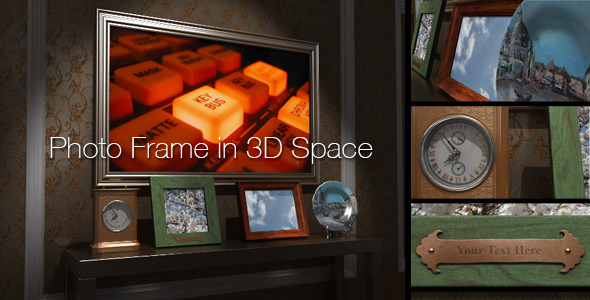VideoHive 3D Photo Frame 1548601