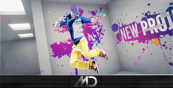 After Effects Project - VideoHive On The Wall 1589656