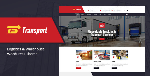 Transport - Transport, Logistic & Warehouse WP