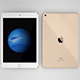 iPad Mini 4th generation in all three colors