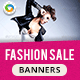 HTML5 Business Banners - GWD - 7 Sizes(NF103)