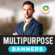 HTML5 Multi Purpose Banners - GWD - 7 Sizes(NF107)
