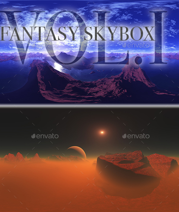 Fantasy Skybox Pack Vol.I - 3DOcean Item for Sale