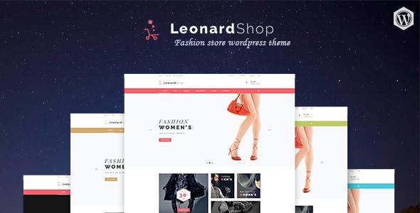 Leonard Shop - Responsive WooCommerce WordPress Theme