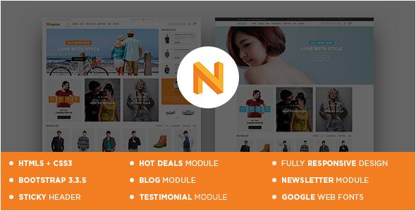 Nexon - Responsive OpenCart Theme
