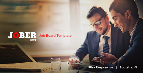Jober - Elegant Job Board Template