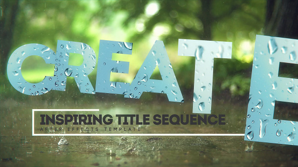 Download Inspiring Title Sequence nulled download