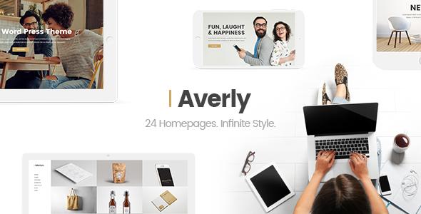Averly - A Hip and Creative Multipurpose Theme