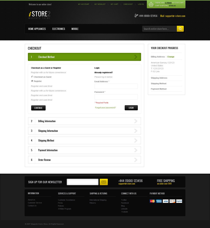 iStore2 Magento Theme