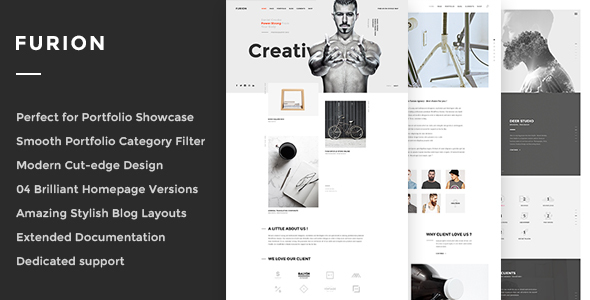 22 - Furion - Creative Blog & Portfolio WordPress Theme