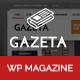Gazeta - Responsive Magazine WordPress Theme