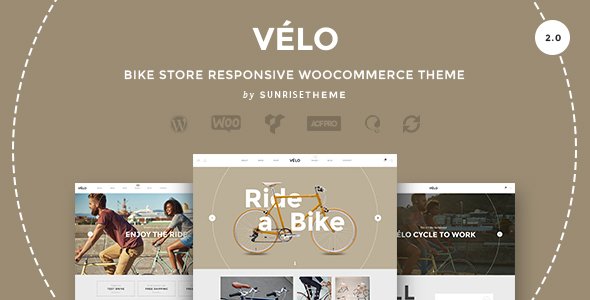 23 - Velo - Bike Store Responsive Business Theme