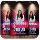 The Woman Of God Church Flyer Templates