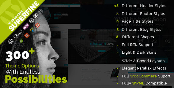 Download SuperFine - Multipurpose WordPress Theme nulled download