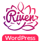 Riven - App Landing Page WordPress Theme