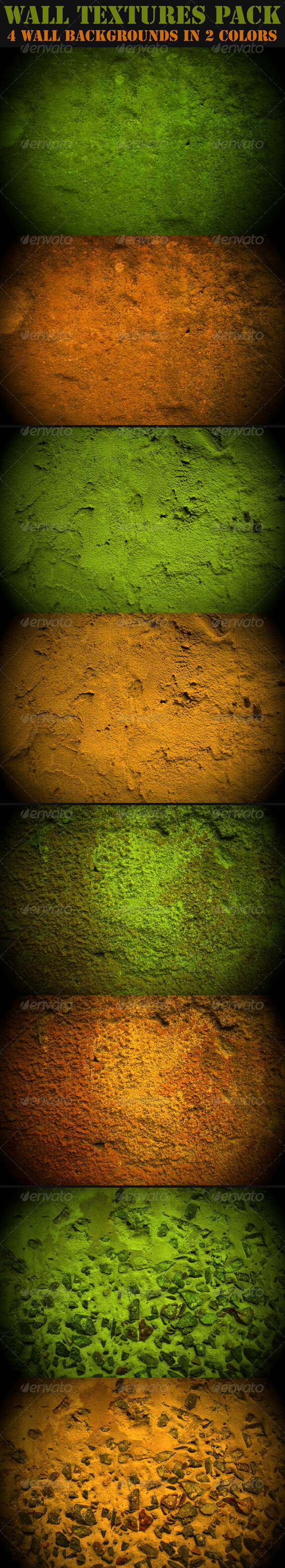 Wall Textures Pack - Concrete Textures