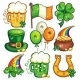 St. Patrick's Day icon set series - GraphicRiver Item for Sale