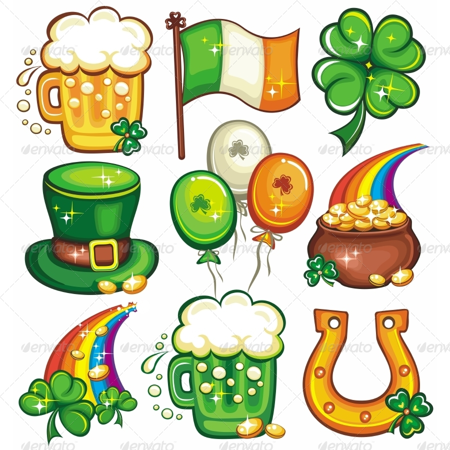 Image St Patrick S Day Symbols Download