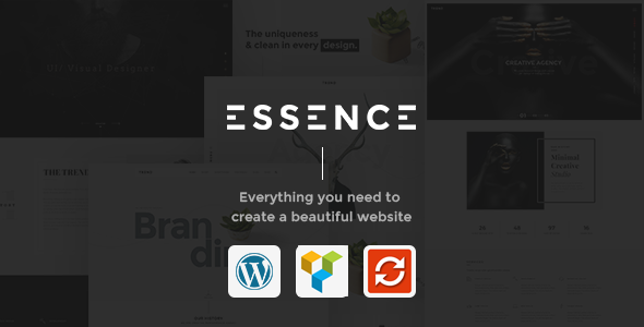 Download Essence - Creative & Portfolio WordPress Theme nulled download