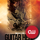 Music & Event Flyer - Guitar Hero - GraphicRiver Item for Sale