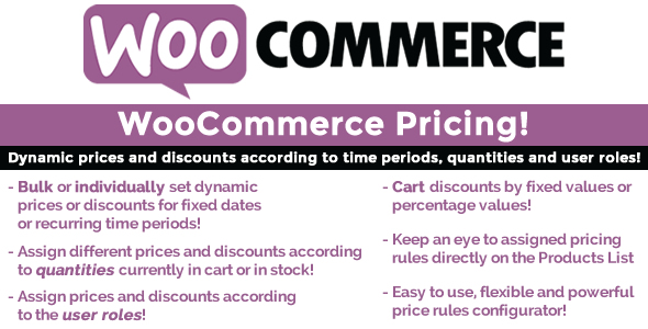 Download WooCommerce Pricing! nulled download