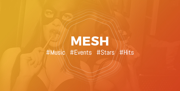 Download MESH   Music, Events, Clubs Theme