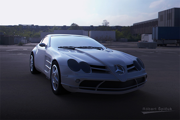Mercedes SLR McLeren - 3DOcean Item for Sale