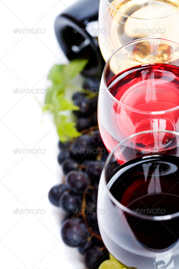 Wine composition - Stock Photo - Images