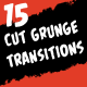 15 Cut Grunge Transitions