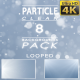 Particles Clean Backgrounds Pack