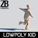 Lowpoly Kid 003