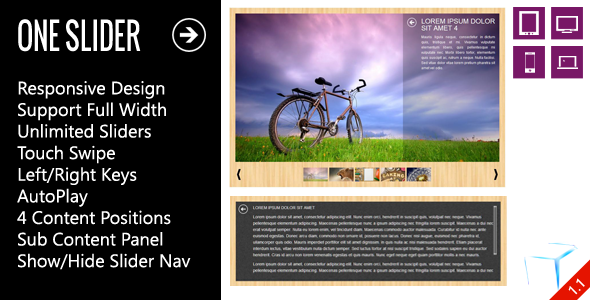 Download OneSlider - Interactive Responsive Slider nulled download